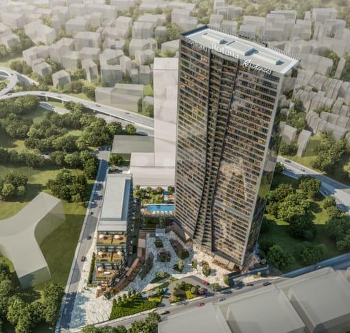 مشروع متميز في شيشلي….اسطنبول   (   كود المشروع     IC 24   )