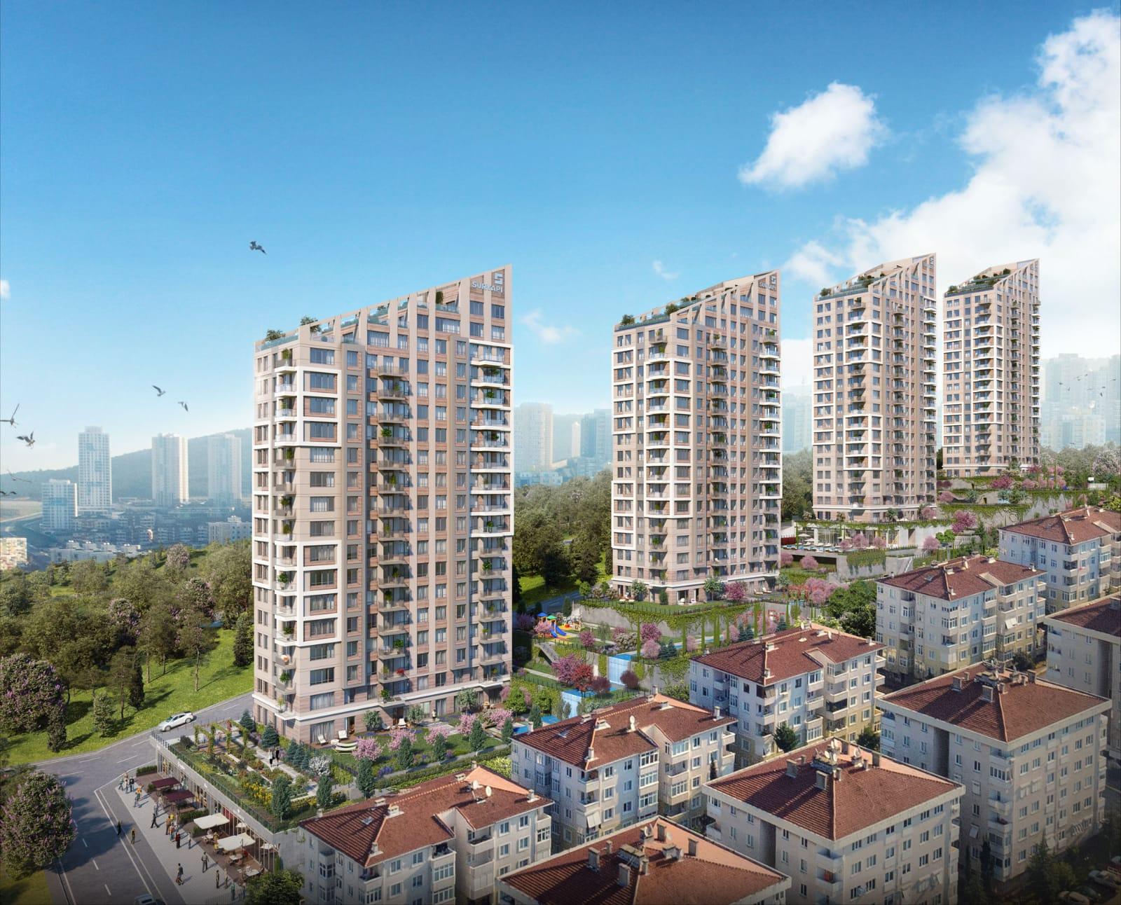 مشروع استثماري في الطرف الآسيوي في مالتيبه…..اسطنبول     (  كود المشروع    IC 16   )