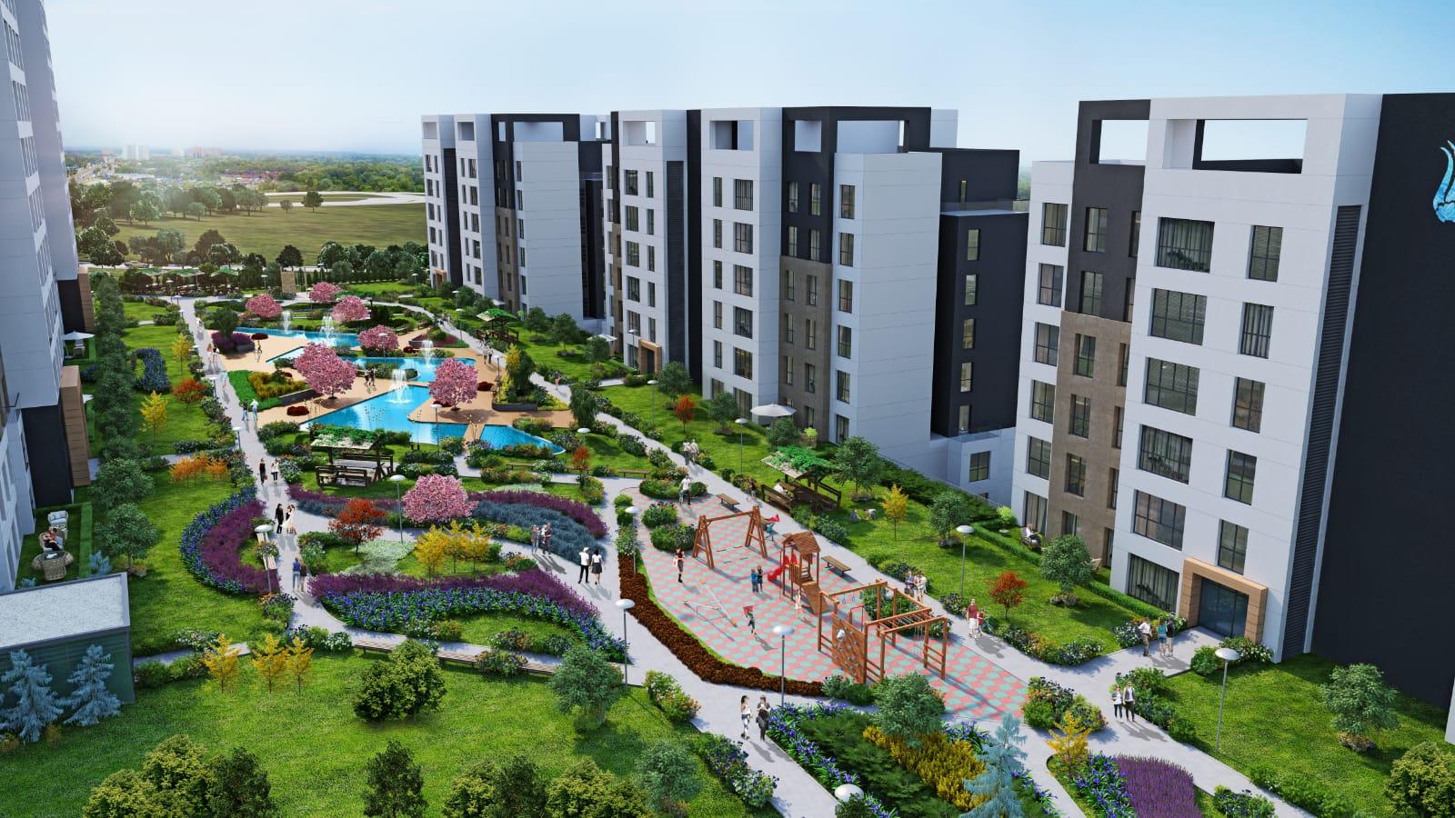 مشروع سكني للاستثمار في بهشة شاهير….اسطنبول     (  كود المشروع    IC 20   )