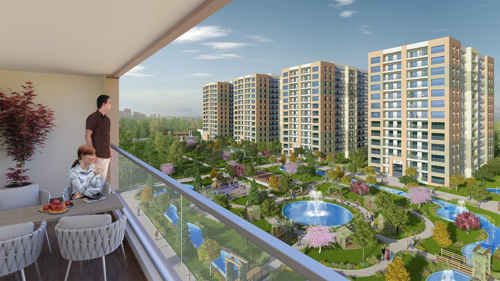 مشروع سكني للاستثمار في بيليك دوزو…..اسطنبول    (   كود المشروع      IC 25  )