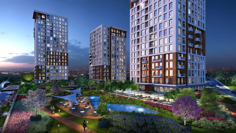 مشروع استثماري في مجمعات سكنية في اسطنبول ….شيشلي       (  كود المشروع   IC 7  )