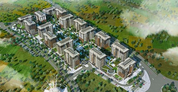 مشروع استثماري بموقع ممتاز في باشاك شاهير….اسطنبول    (  كود المشروع    IC 37  )