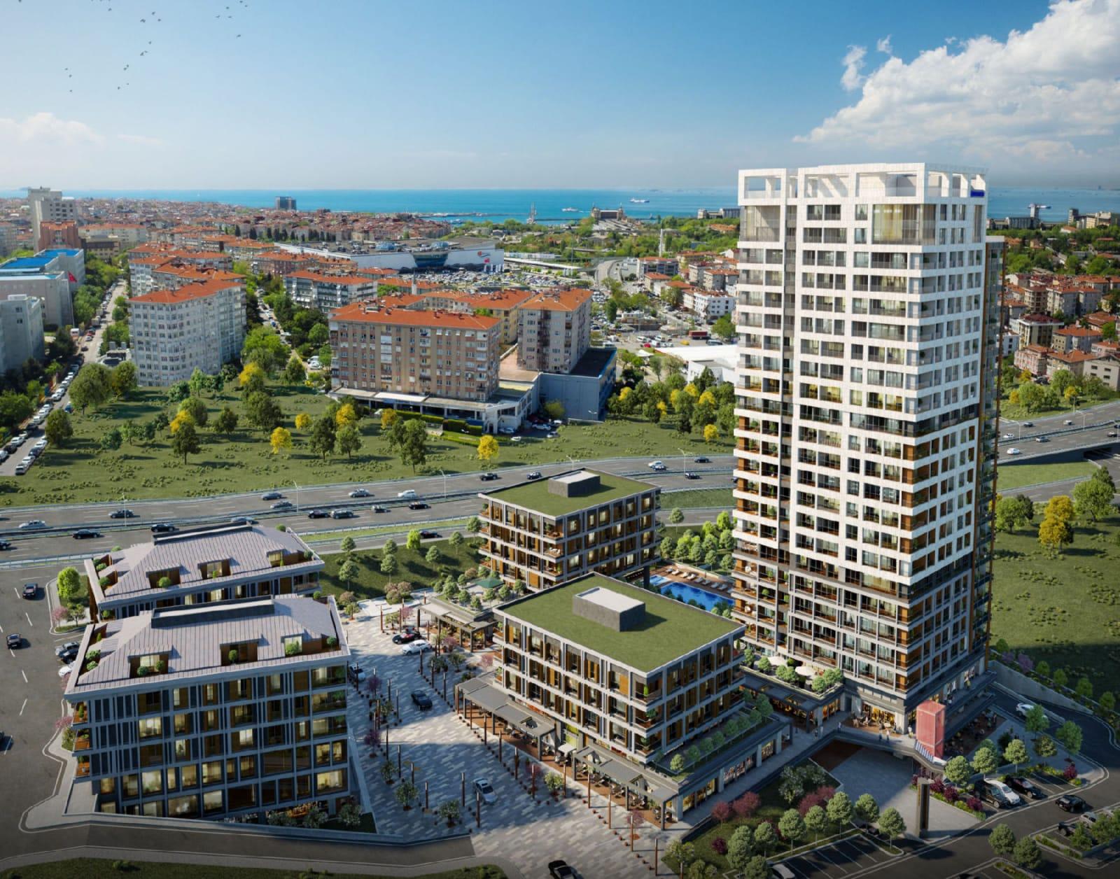 مشروع بموقع متميز في الطرف الآسيوي في منطقة تشاملجا….اسطنبول    (  كود المشروع   IC 39  )