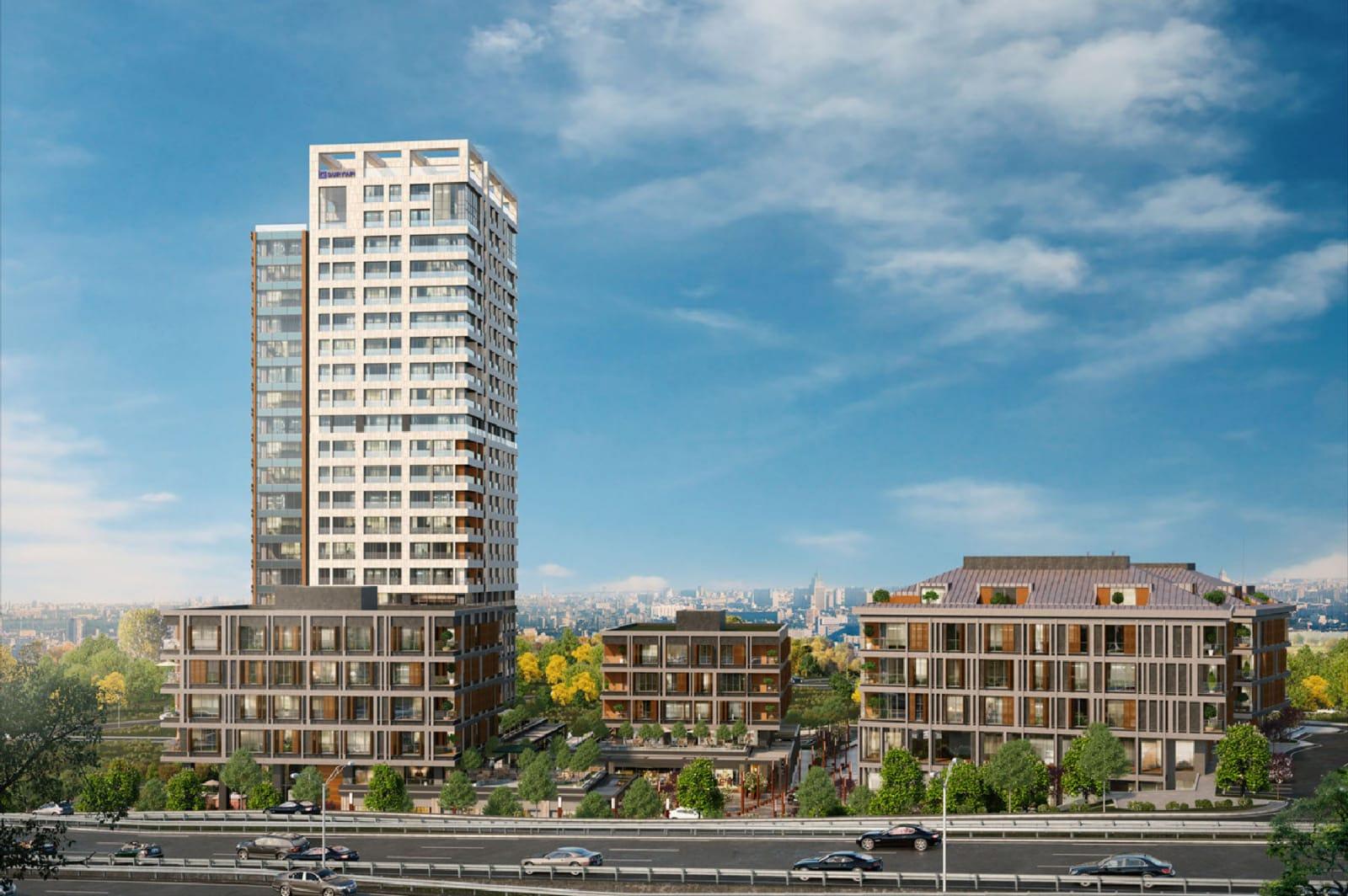 مشروع متميز على مشارف مضيق البوسفور في كاديكوي في قلب اسطنبول التاريخية    ( كود المشروع      IC 40  )