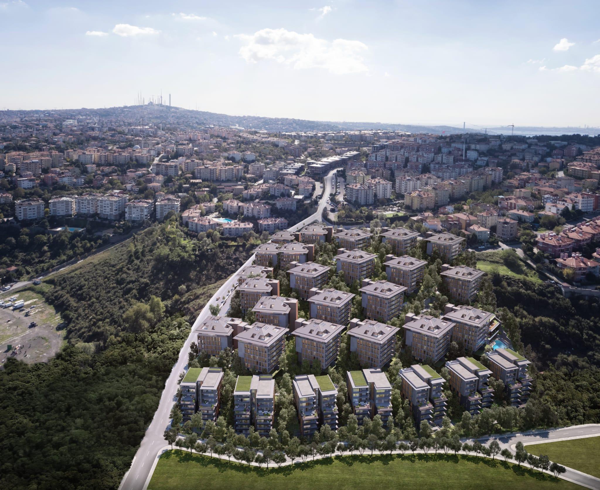مشروع استثماري بالقرب من البوسفور يمزج بين الخصائص التاريخية والهندسة المعمارية الحديثة في الطرف الآسيوي من اسطنبول…..أوسكودار           (  كود المشروع     IC 45  )