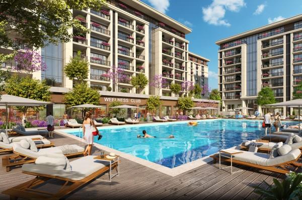 مشروع يعد من اضخم المشاريع الاستثمارية وفي موقع مميز في اسطنبول بيوك شكمجة (كود المشروع IC 50)