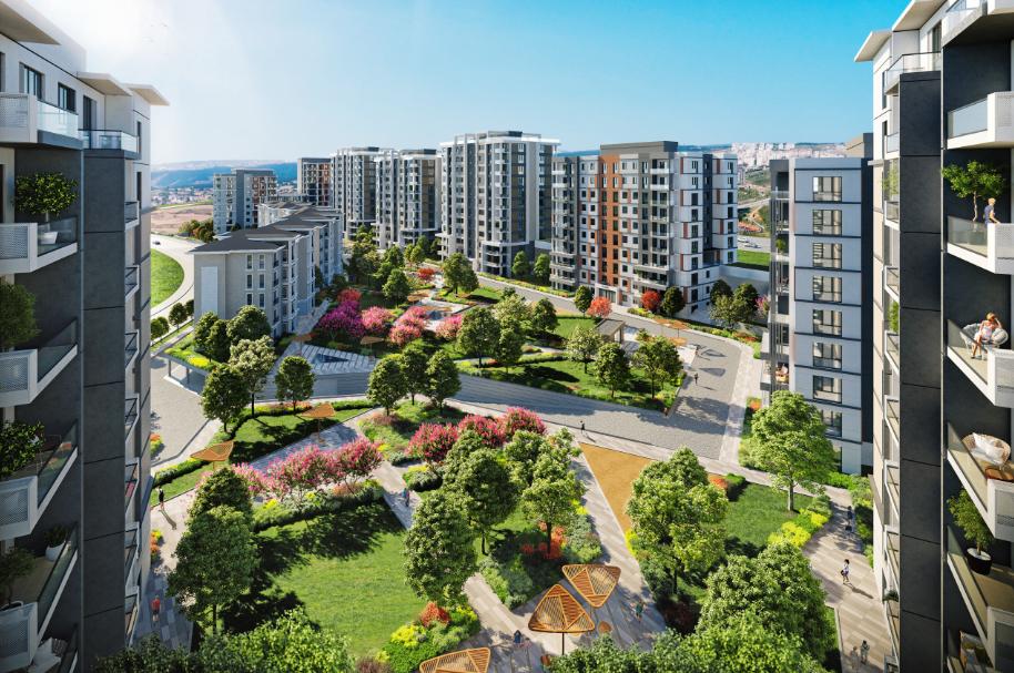مشروع استثماري في اسطنبول باشاك شهير كود المشروع ( IC 53 )