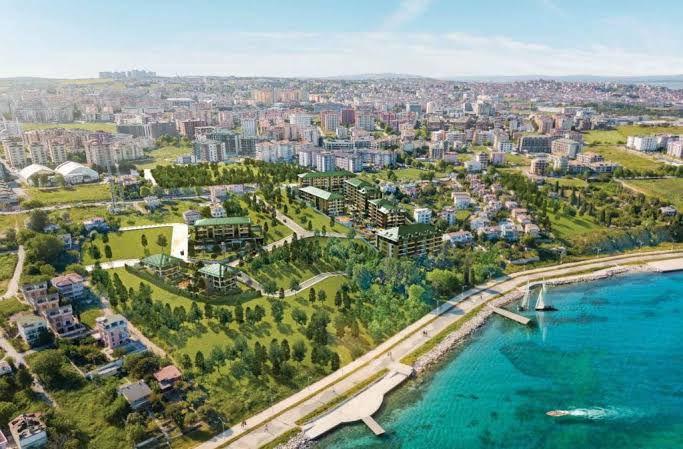 مشروع استثماري في اسطنبول جانب ساحل بيوك شكمجة كود المشروع(IC 55)