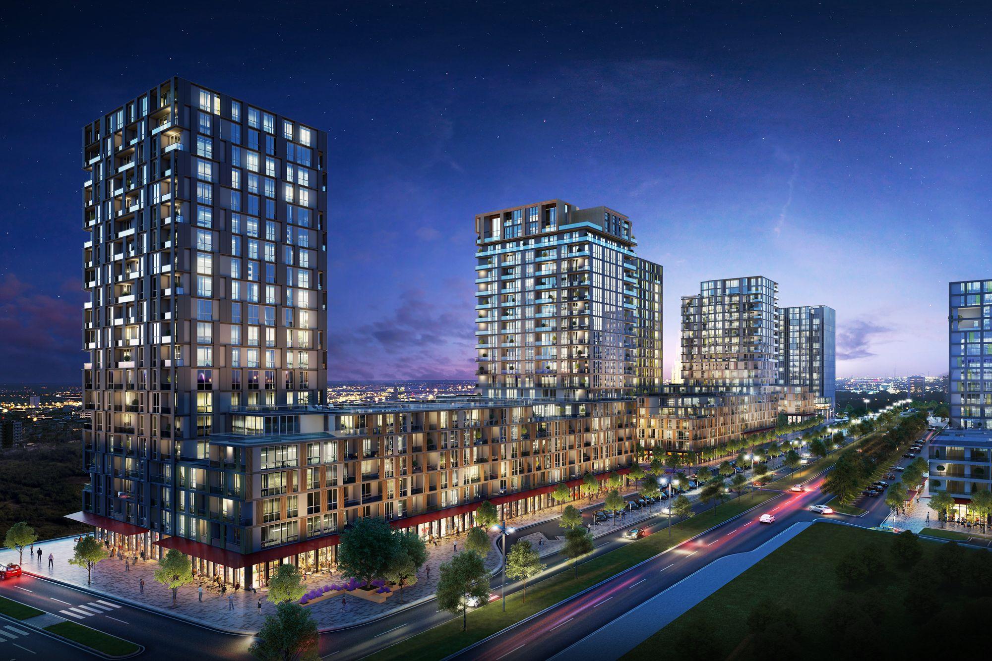 مشروع استثماري سكني في اسطنبول بهشا شهير كود المشروع (IC 57)