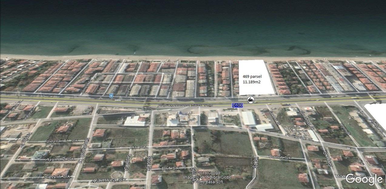 ارض للبيع في اسطنبول بيوك جكمجة عالبحر مباشر