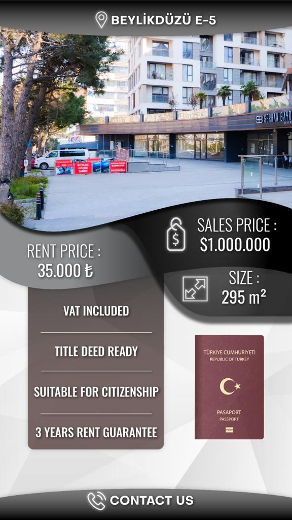 دكان للبيع في اسطنبول بيليك دوزو