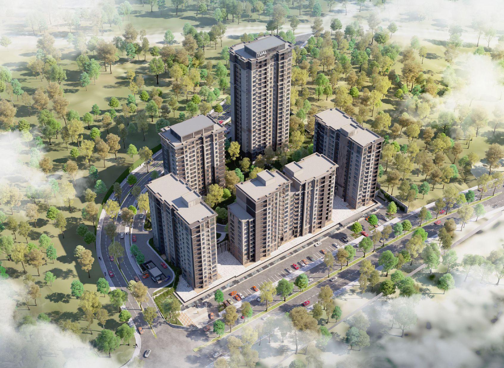 مشروع استثماري سكني في اسطنبول اسبارطة كولي كود المشروع (IC 59)
