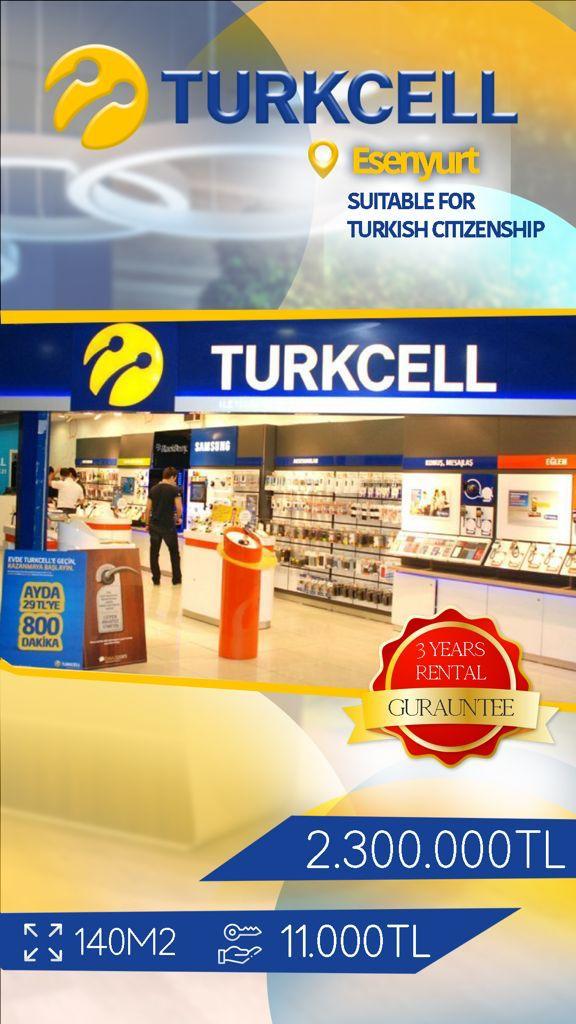 دكان للبيع في اسطنبول اسنيورت