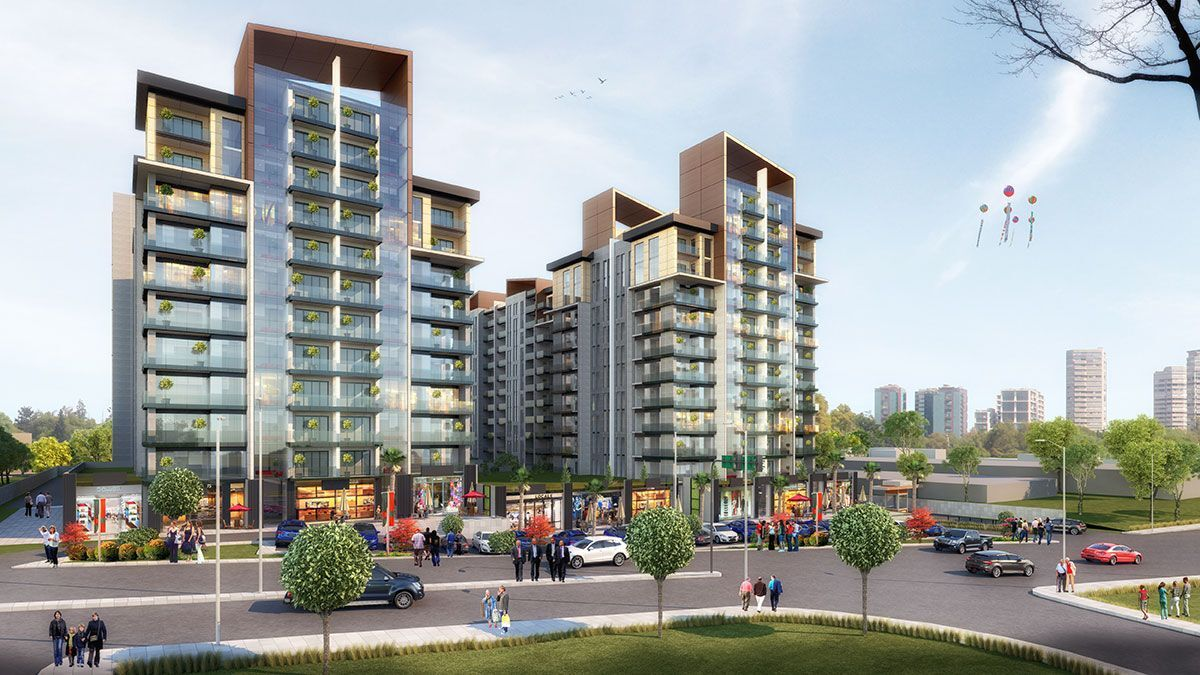 مشروع استثماري سكني في اسطنبول الباسن اكسبريس كود المشروع (IC 60)