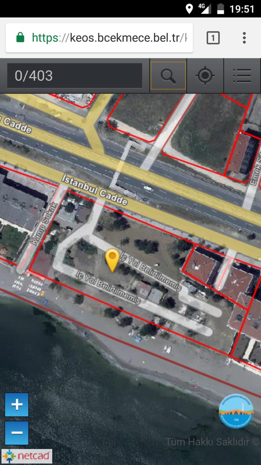 ارض للبيع في اسطنبول بيوك شكمجة عالبحر مباشر