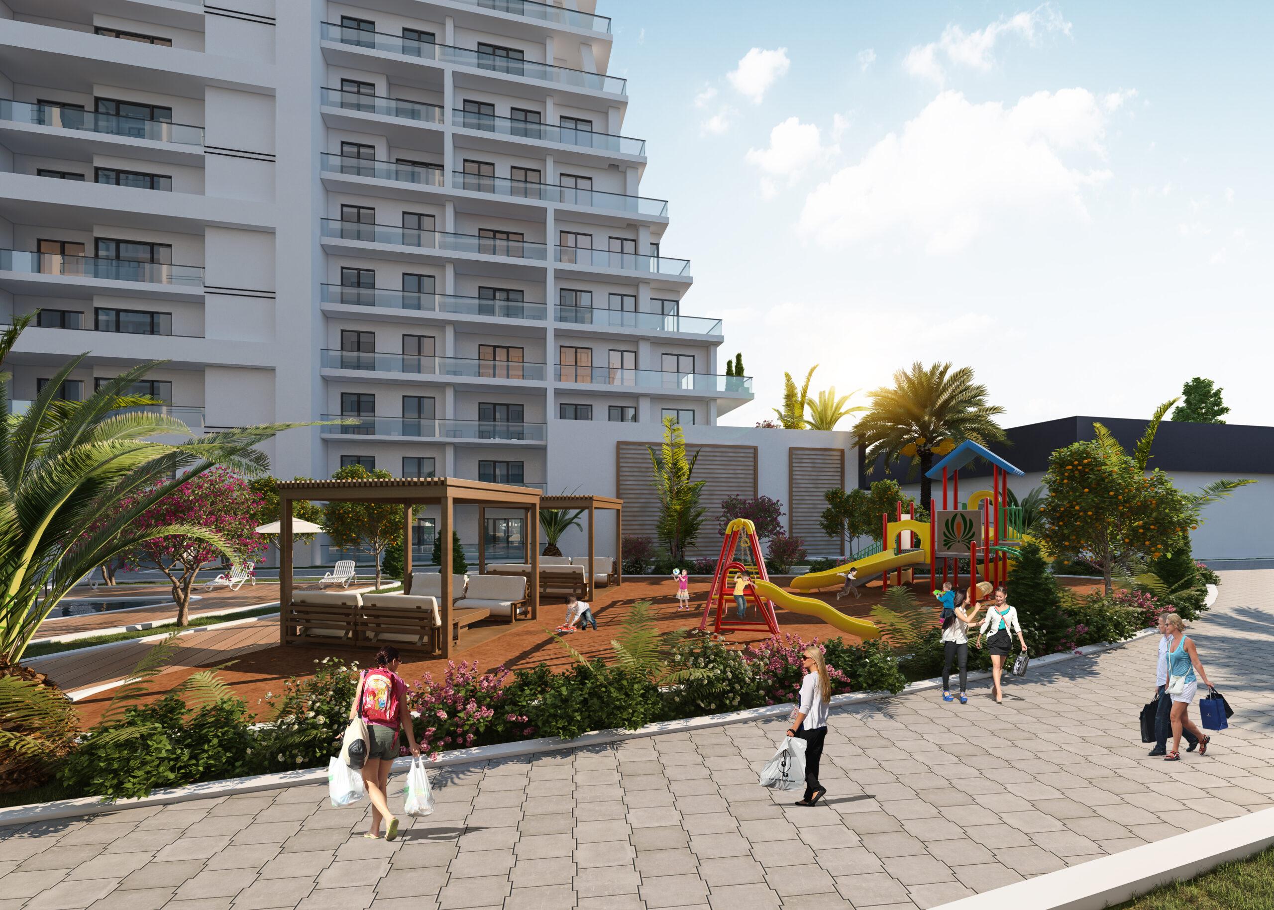 مشروع استثماري سكني في اسطنبول اسنيورت ( IC 63 )